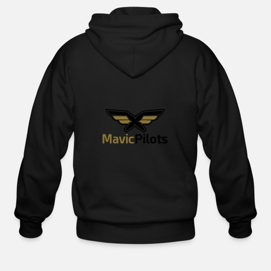 Mavic Hoodies & Sweatshirts - MavicPilots Coffee Mug - Men's Zip Hoodie black