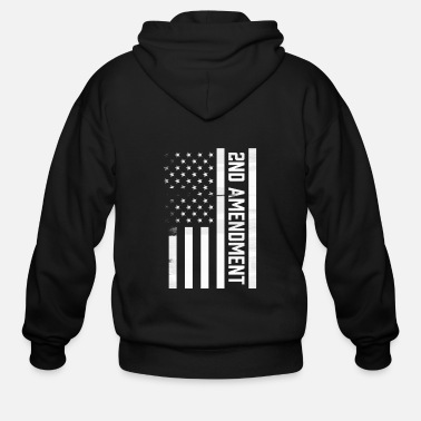 2nd Amendment 2nd Amendment - Men's Zip Hoodie