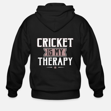 Birthday Motto Unique Hilarious Cricket Player Enthusiasts Gifts - Men's Zip Hoodie