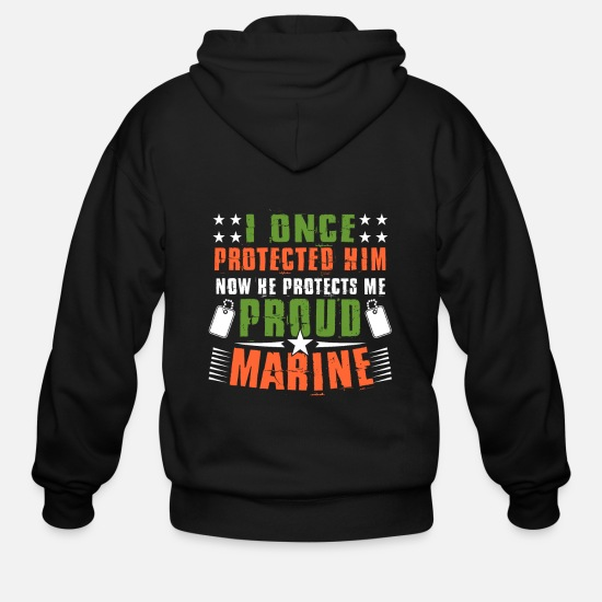 Gift Idea Hoodies & Sweatshirts - Soldier - Men's Zip Hoodie black