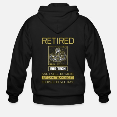 Retiret Eod Tech Retiret - Men's Zip Hoodie