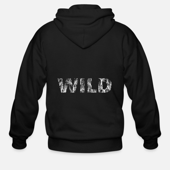 Wild Hoodies & Sweatshirts - wild - Men's Zip Hoodie black