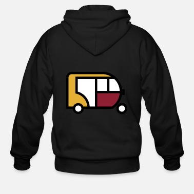 Tuk Tuk Tuk Tuk Cute Gift Idea - Men's Zip Hoodie