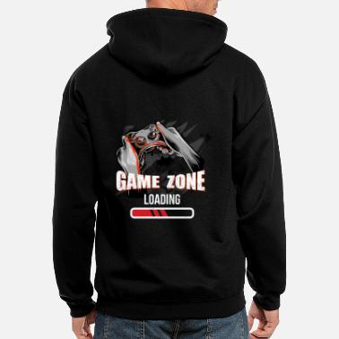 Multiplayer Game Zone Loading - Men's Zip Hoodie