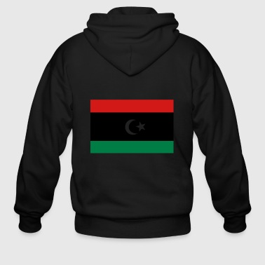 Flag of Libya - Men's Zip Hoodie