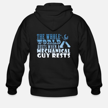 Whole the whole world - Men's Zip Hoodie