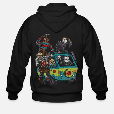 Horror Actor of Halloween shirt - Men's Zip Hoodie