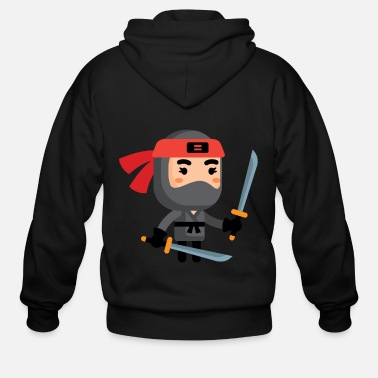 Video Ninja Lvl 3 - Men's Zip Hoodie
