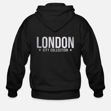 London Bestseller London city gift - Men's Zip Hoodie