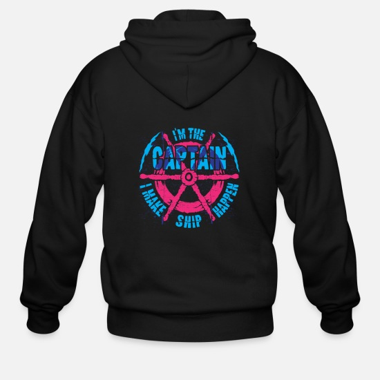 Boating Hoodies & Sweatshirts - Boating - Men's Zip Hoodie black