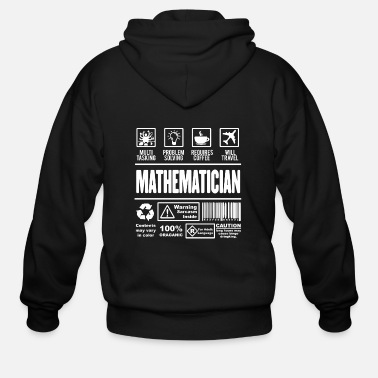 Mathematics mathematics - Men's Zip Hoodie