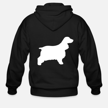 Spaniel Cocker Spaniel - Men's Zip Hoodie