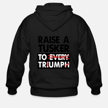 Donald-trump Donald Trump. - Men's Zip Hoodie