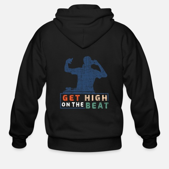 Beatbox Hoodies & Sweatshirts - Hip Hop - Men's Zip Hoodie black