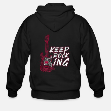 Electric Guitar Electric Guitar - Men's Zip Hoodie