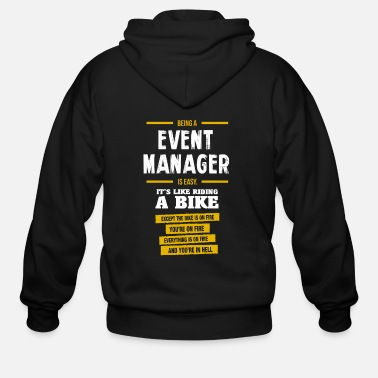 Eventing Event manager - Men's Zip Hoodie