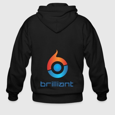 Brilliant Brilliant - Men's Zip Hoodie