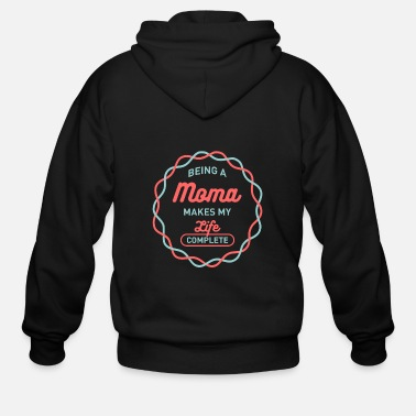 Moma Being Moma - Men's Zip Hoodie