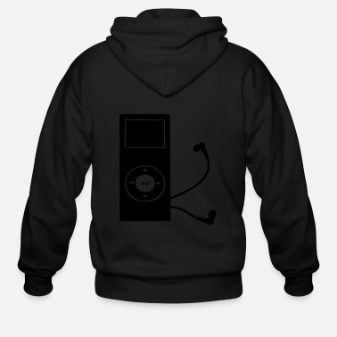 Mp3 mp3 player - Men's Zip Hoodie
