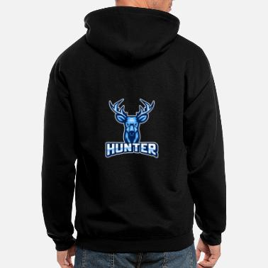Gaming Team eSport Gaming Team hunter - Men's Zip Hoodie