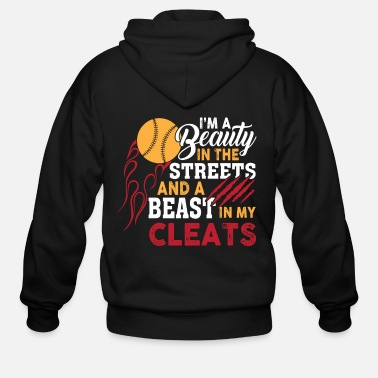 I'm A Beauty In The Streets T Shirt - Men's Zip Hoodie