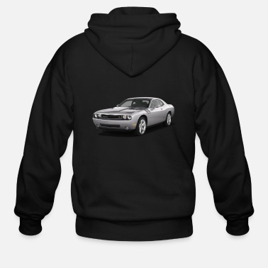 Dodge Challenger 2009 DODGE CHALLENGER RT COUPE - Men's Zip Hoodie