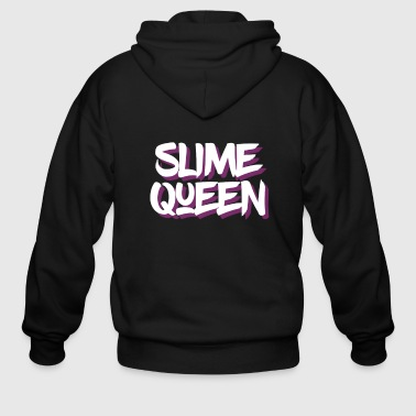 Slime Queen, Slime Life, Slime Party, Slime Birthday - Men's Zip Hoodie