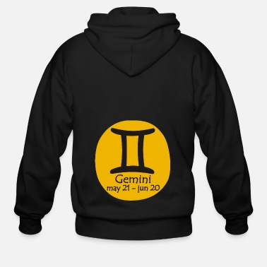 Horoscope Gemini Horoscope - Men's Zip Hoodie