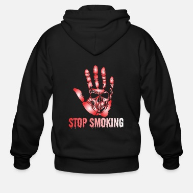 Smoking No Smoking - Men's Zip Hoodie