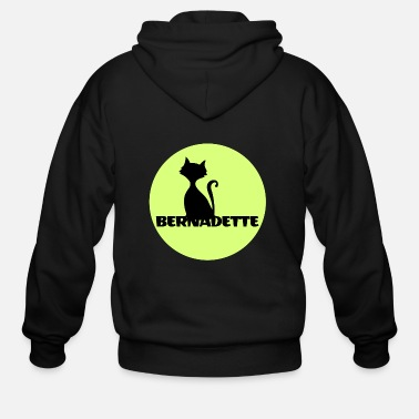 Name Day Bernadette name first name - Men's Zip Hoodie