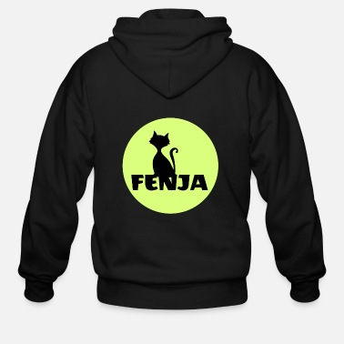 First Name Fenja first name - Men's Zip Hoodie