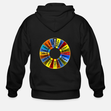 Wheel Wheel of Fortune logo Shirt - Men's Zip Hoodie