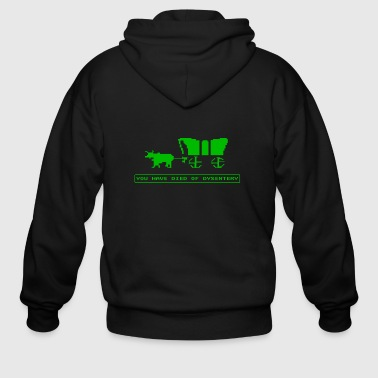 Oregon Trail - Men's Zip Hoodie