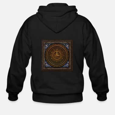 Time Travel time travel - Men's Zip Hoodie
