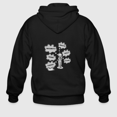 Blasen What am I to do? - Men's Zip Hoodie