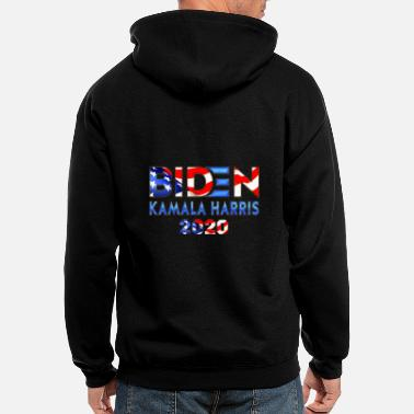 BIDEN Kamala Harris 2020 Shadow - Men's Zip Hoodie