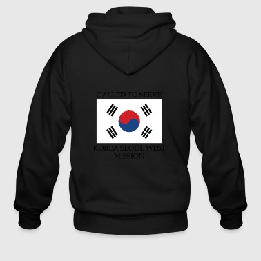 Korea Seoul West LDS Mission Called to Serve - Men's Zip Hoodie
