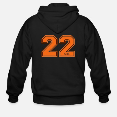 Quote 22 centimeter - Men's Zip Hoodie