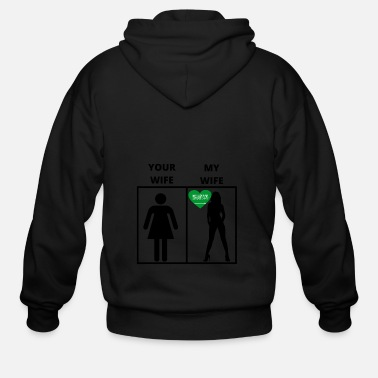 Arabia Saudi Arabien geschenk my your wife - Men's Zip Hoodie