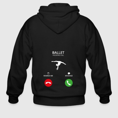 Call Mobile Anruf ballet balletto ballet - Men's Zip Hoodie