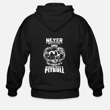 Never Underestimate the Power of a Woman - Men's Zip Hoodie