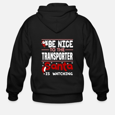 Transport Transporter - Men's Zip Hoodie