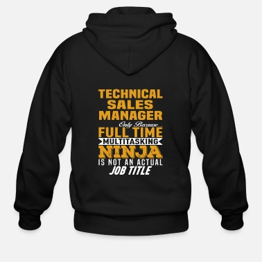 Sale Technical Sales Manager - Men's Zip Hoodie