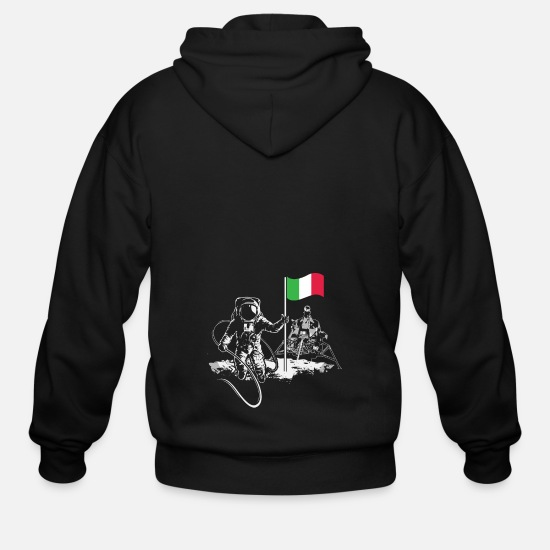 Italy Hoodies & Sweatshirts - Italy - Men's Zip Hoodie black