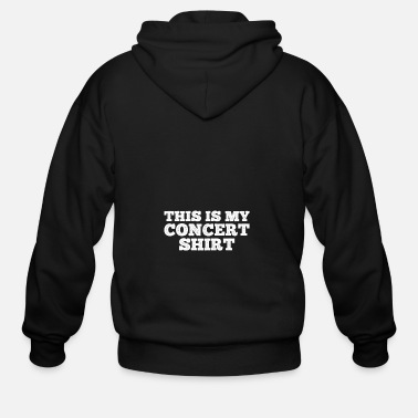 Concert Concert Shirt gift for Concert Goers - Men's Zip Hoodie