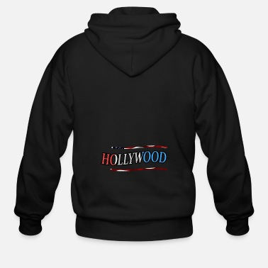 Hollywood Hollywood - Men's Zip Hoodie