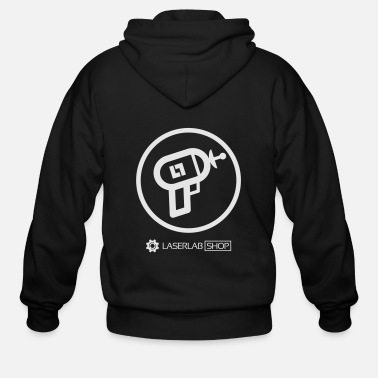 Laser Laser Lab - Laser Gun Shirt - Men's Zip Hoodie