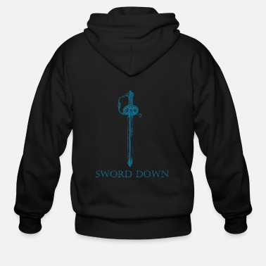 Down Sword down - sword down - Men's Zip Hoodie