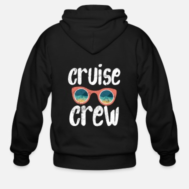 Cruise Crew Cruise Crew Vacation Sailor Boating Crew - Men's Zip Hoodie