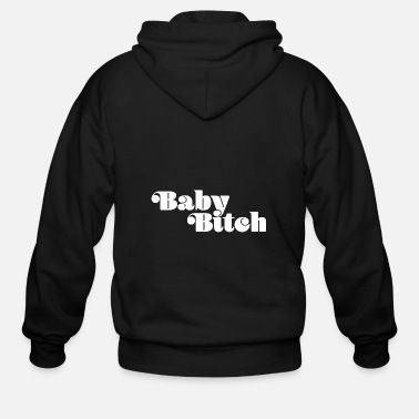 Stella Baby Bitch - Men's Zip Hoodie
